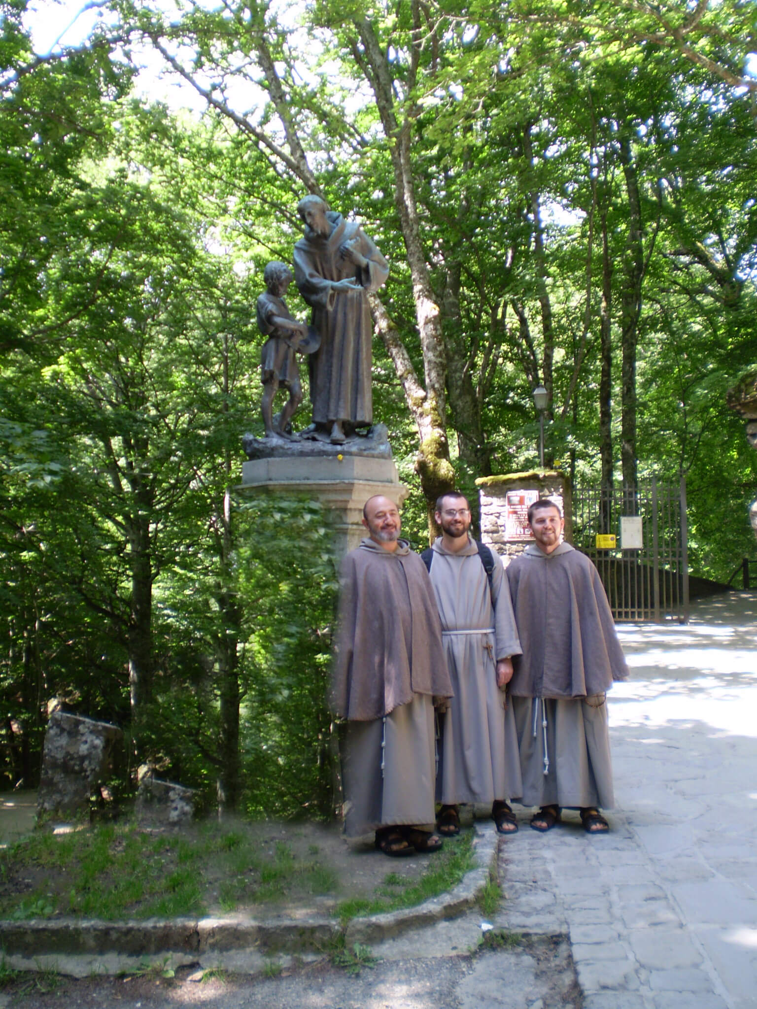 Friars in Assisi